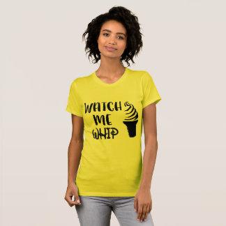 Passen Sie mich auf zu peitschen T-Shirt