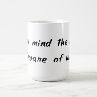 Passen Sie von der Ehefrau-Tasse auf Tasse
