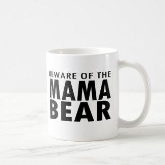 Passen Sie von der Mutter Bear Mug auf Kaffeetasse