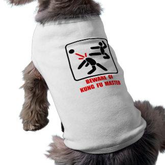 Passen Sie von Kung Fu Meister auf T-Shirt
