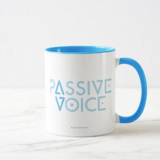 Passive Stimme Tasse