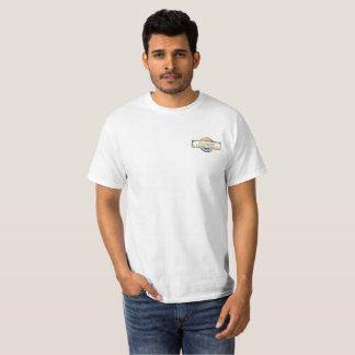 Passlogo der T - Shirt der weißen Männer