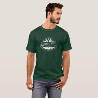 Passout Vashon Insel (weiße Tinte) T-Shirt