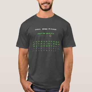 Passwort Justin Bailey T-Shirt