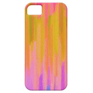 Pastell farbiger abstrakter Hintergrund #2 iPhone 5 Etui