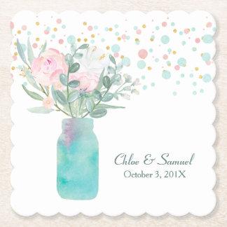 Pastellconfetti-Weckglas-Hochzeit