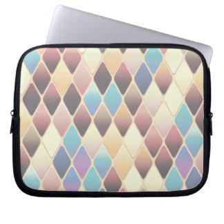 Pastelldiamant-Mosaik Laptop Sleeve