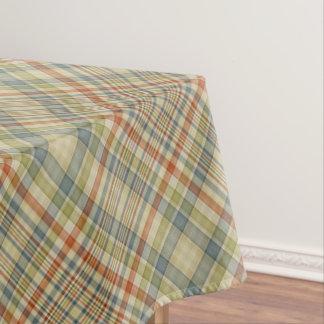 Pastellfarbkariertes Muster Tischdecke