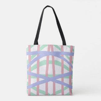Pastellkreuzschraffieren-Entwurf Tasche