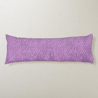 Pastelllavendel-Trauben-Pop-Blasen-Verpackung lila Seitenschläferkissen