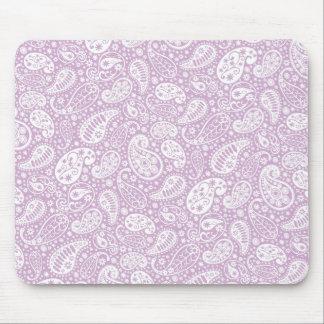 PastellLiliac Frühling Paisley Mousepad