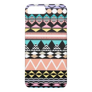 PastellParty-Azteke-Muster iPhone 8 Plus/7 Plus Hülle