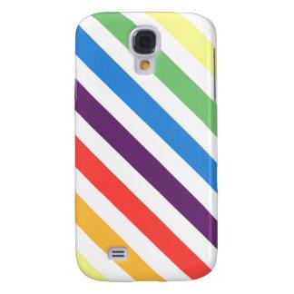 Pastellregenbogen Galaxy S4 Hülle