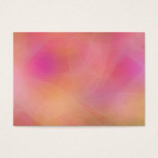 Pastellregenbogen Jumbo-Visitenkarten