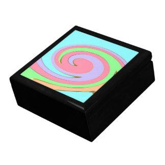 Pastellregenbogen-Kasten Geschenkbox