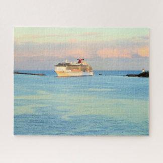 Pastellsonnenaufgang mit Kreuzschiff