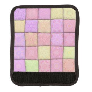 Pastellsteppdecke 1 (I) Koffergriffwickel