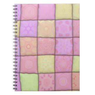 Pastellsteppdecke 1 (I) Notizblock