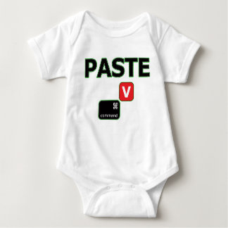 Pasten-Mac paart Baby-Jersey-Bodysuit Baby Strampler