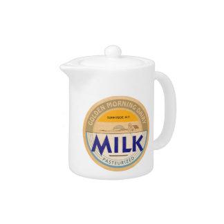 Pasteurisierte Milch:: Kundengerechte Retro