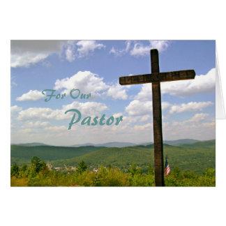 Pastor-Anerkennungs-Schrifts-Karte Karte