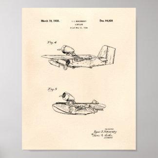 Patent-Kunst altes Peper des Maurers des Poster