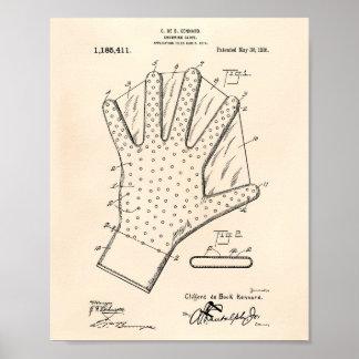 Patent-Kunst altes Peper des Poster