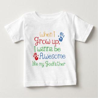 Patentkind-Geschenk-fantastischer Pate Baby T-shirt