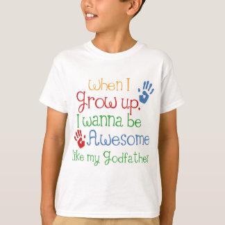 Patentkind-Geschenk-fantastischer Pate T-Shirt