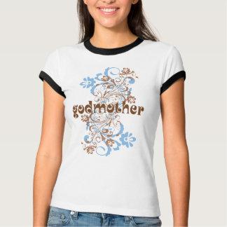 Patin geblühtes Strudel-Geschenk-T-Stück T-Shirt