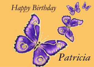 Cadeaux Joyeux Anniversaire Patricia Zazzle Ch