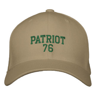 Patriot 76 BC Bestickte Kappe