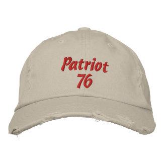 Patriot 76 bestickte kappe