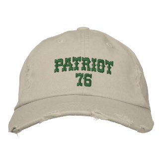 Patriot 76 Hektogramme Bestickte Baseballkappe