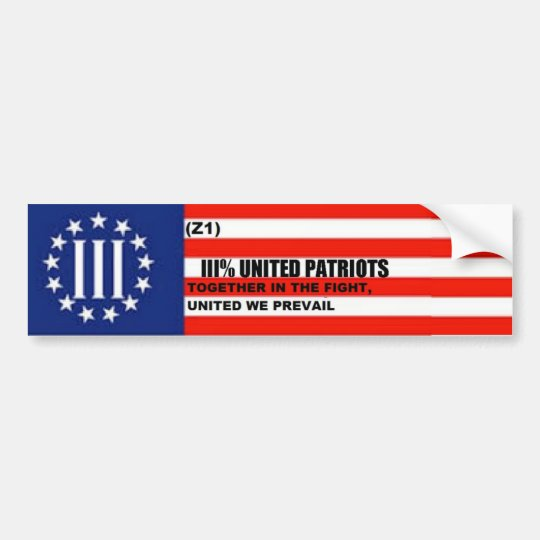 Patriot-Autoaufkleber Autoaufkleber