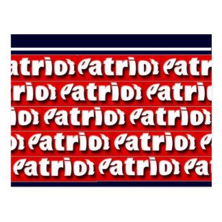 Patriot Postkarte
