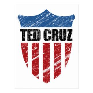 Patriot-Schild Teds Cruz Postkarte