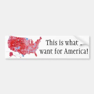 Patriotische 2016 Wahl, Trumpf, Deplorables Autoaufkleber