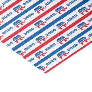 Patriotische 2020 republikanische Elefant-Streifen Seidenpapier