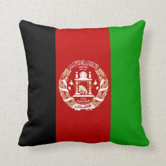 Patriotische afghanische Flagge Kissen