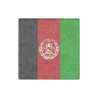 Patriotische afghanische Flagge Steinmagnet