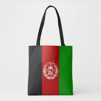 Patriotische afghanische Flagge Tasche
