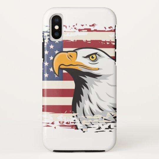 PATRIOTISCHE AMERIKANISCHE FLAGGE UND HTC VIVID / RAIDER 4G CASE