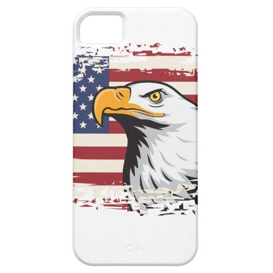PATRIOTISCHE AMERIKANISCHE FLAGGE UND iPhone 5 ETUIS