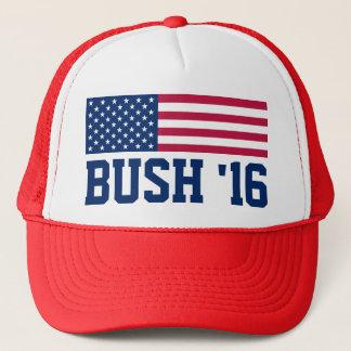 Patriotische Bushamerikanische Flagge 2016 Truckerkappe
