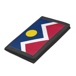 Patriotische Geldbörse mit Flagge von Denver