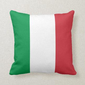 Patriotische italienische Flagge Kissen