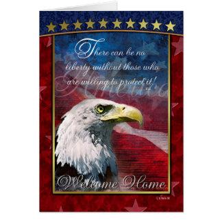 Patriotische kahler karte