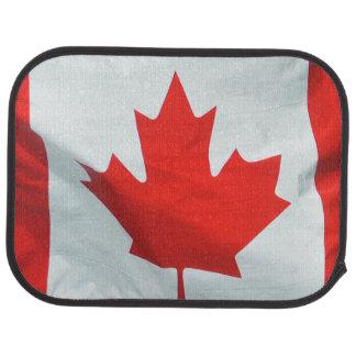 Patriotische kanadische Flagge Autofußmatte