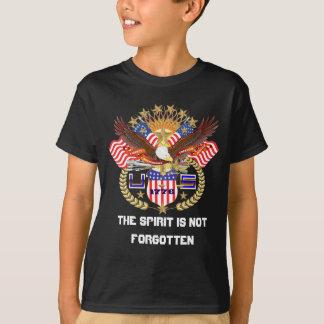 Patriotische Kinderdunkelheit alle reden T-Shirt